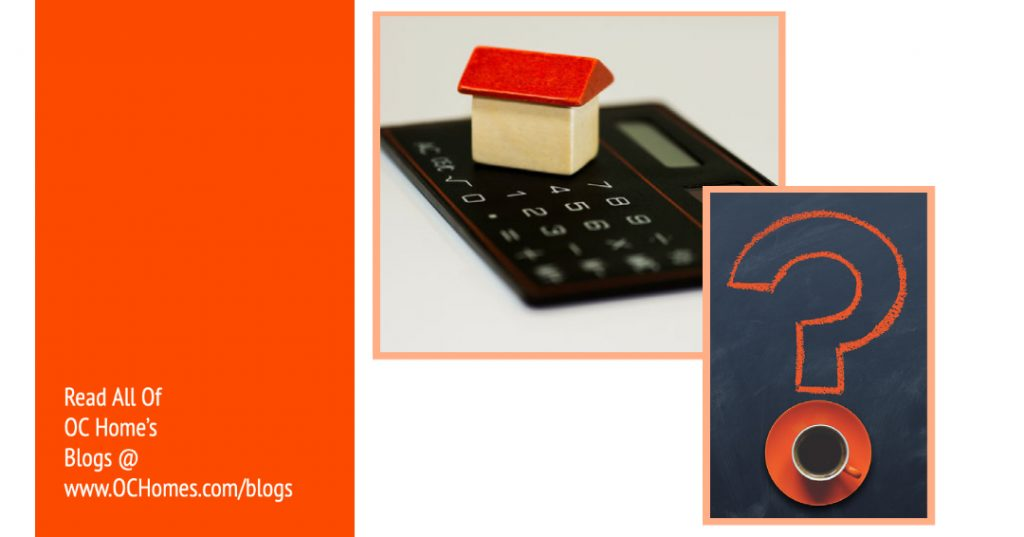How Much Income Should Go Towards My Mortgage By OC Homes